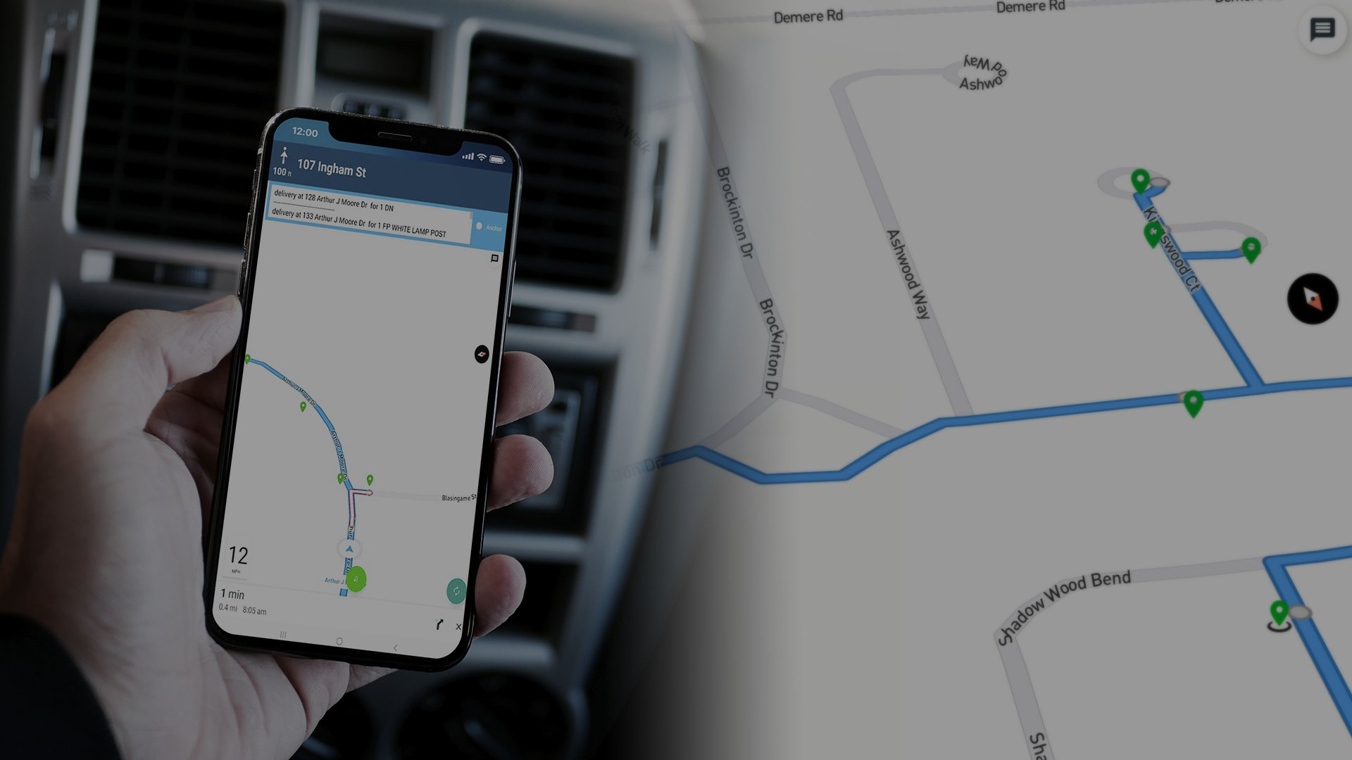 TRACK DELIVERIES IN REAL TIME